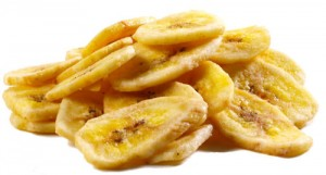 Ingredients - Dried Banana Chips
