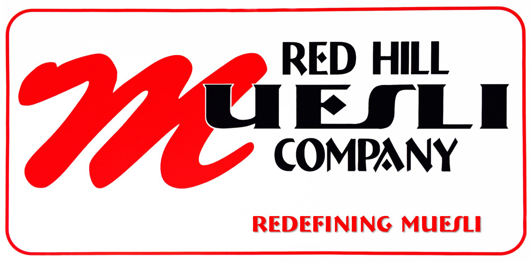 Red Hill Muesli - Title Card 3